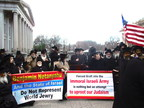 Thousands of Orthodox Jews Protest Israeli Military Draft Law During Netanyahu's Attendance in Washington