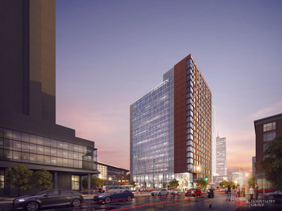 The dual-branded AC and Le Meridien Denver Downtown will open late summer 2017 with nearly 500 rooms and Colorado's highest open-air rooftop bar.