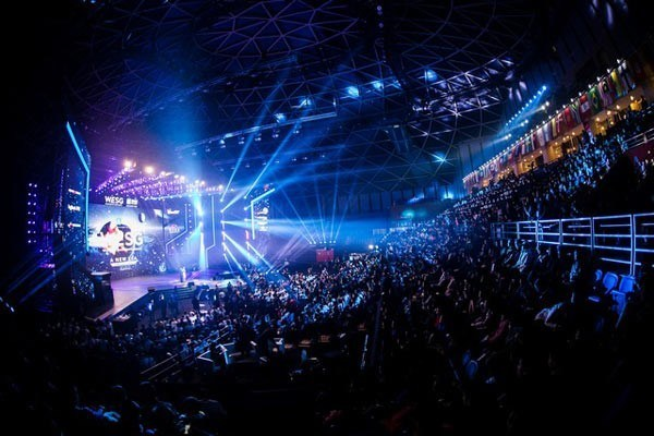 The WESG final (PRNewsFoto/Alisports (Shanghai) Co., Ltd.)