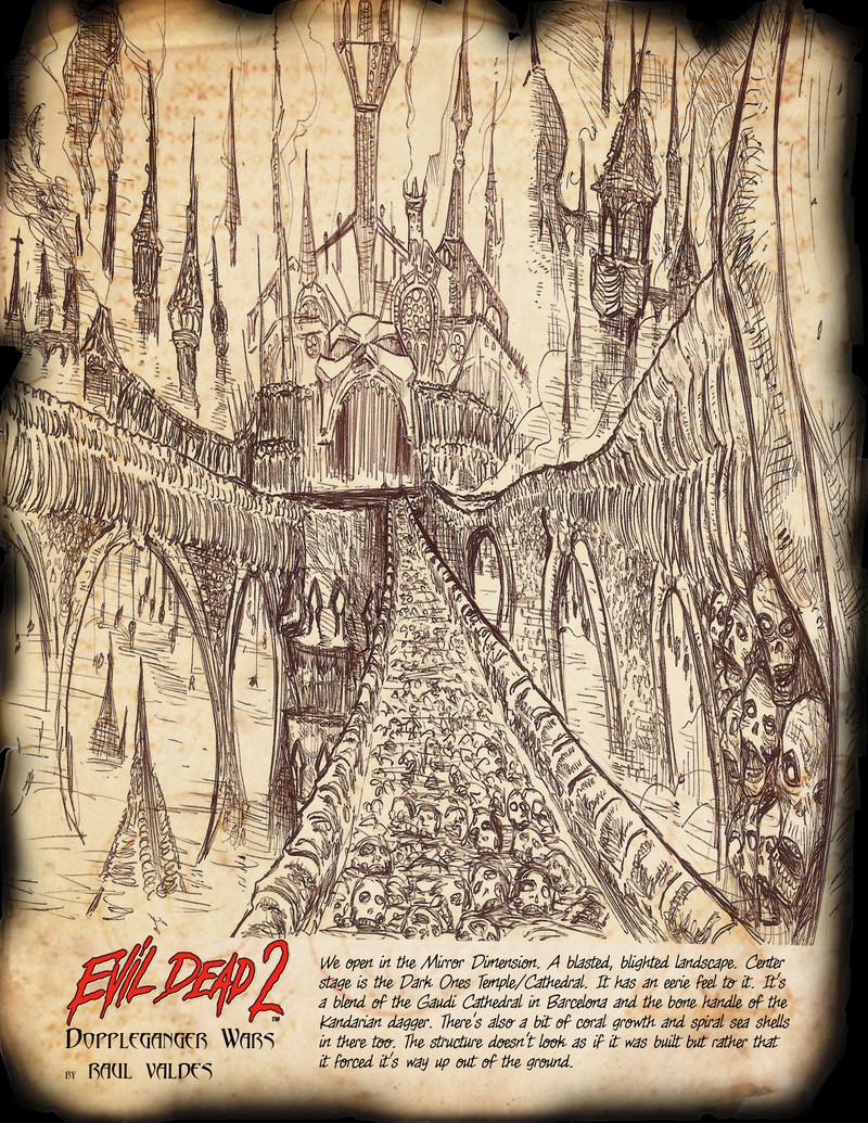 The Mirror Dimension from Evil Dead 2: Doppleganger Wars