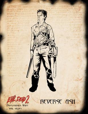 Reverse Ash from Evil Dead 2: Doppleganger Wars