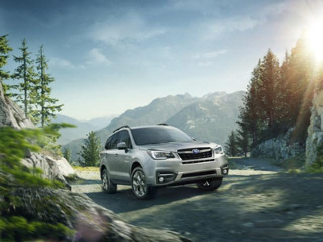Subaru Forester - AJAC Utilitaire canadien de l'année 2017 (Groupe CNW/Subaru Canada Inc.)