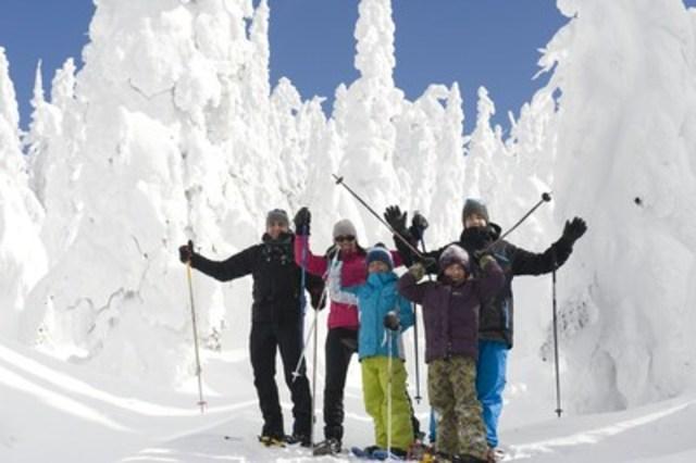 Parc national des Monts-Valin. (Groupe CNW/Société des établissements de plein air du Québec)