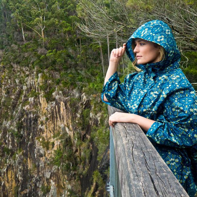 November Rain ponchos, a stylish accessory that really gives back