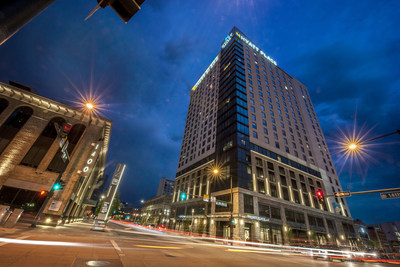 The dual-branded Hyatt Place and Hyatt House Denver/Downtown, which opened late 2015, is an example of the innovation that has driven White Lodging over its 30+ year history. With its new branding, the company is positioning to share its story as it enters into the fastest growth period in its history with 17 hotels opening in the next 18 months.