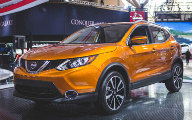 The Nissan Qashqai brings something truly innovative to consumers at the 2017 Canadian International Auto Show, offering the functionality of a crossover with all the benefits of a compact car (CNW Group/Nissan Canada Inc.)