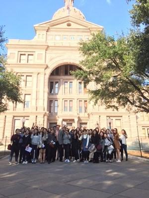 Korea West Participants Visit Texas Capital in Austin