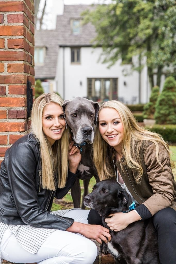 The Knot 2017 Dream Wedding couple, Elena Delle Donne & Amanda Clifton. Photo: The Knot/Hudson Nichols Photography