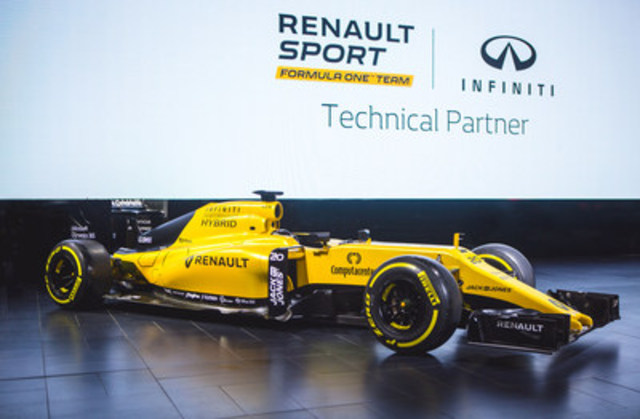 INFINITI gave attendees of the 2017 Canadian International Auto Show a uniquely Canadian glimpse into its involvement with the Renault Sport Formula One™ Team (CNW Group/Infiniti)