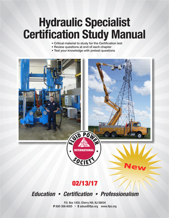 IFPS Hydraulic Specialist Certification Study Manual