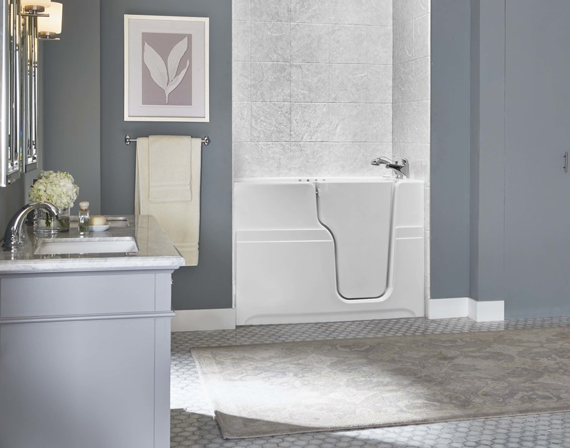 Jacuzzi Luxury Bath announces partnership with BathWraps to distribute Jacuzzi(R) Brand Walk-in Bathtubs