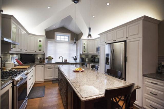Custom Kitchen Design and Renovation (CNW Group/Inverness Design Build Group Ltd)
