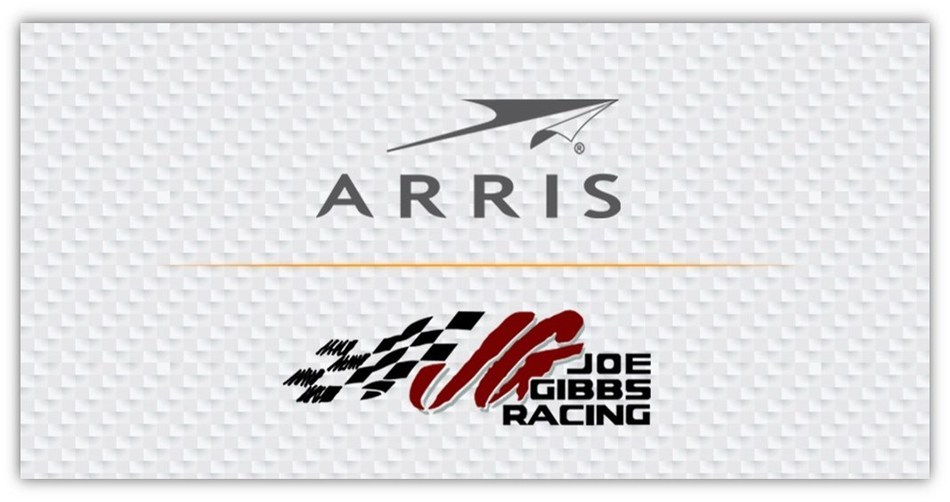 ARRIS Renews Multi-Year Sponsorship with Joe Gibbs Racing