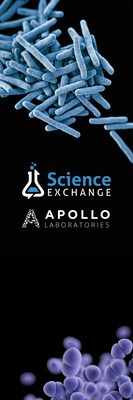 Apollo Laboratories will now be available from the Science Exchange marketplace. Science Exchange is the leading marketplace for scientific research.