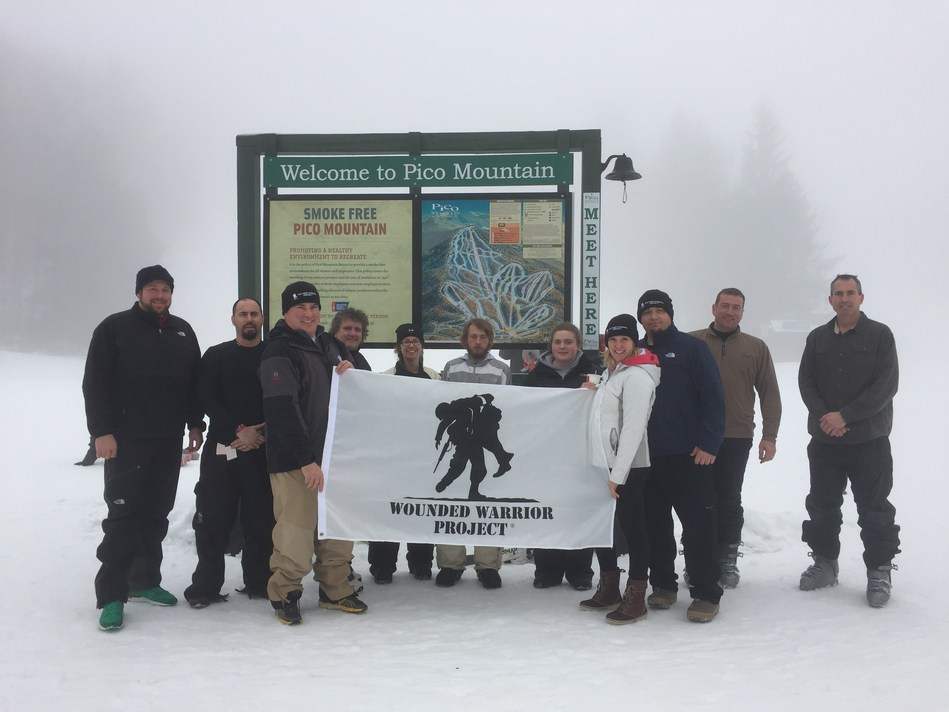An abundance of snow and chilly temperatures could not keep Wounded Warrior Project(R) (WWP) veterans away from the slopes of Pico Mountain recently. Participants skied, rode snowboards, and enjoyed the benefits of getting out of the house and connecting with fellow service members.