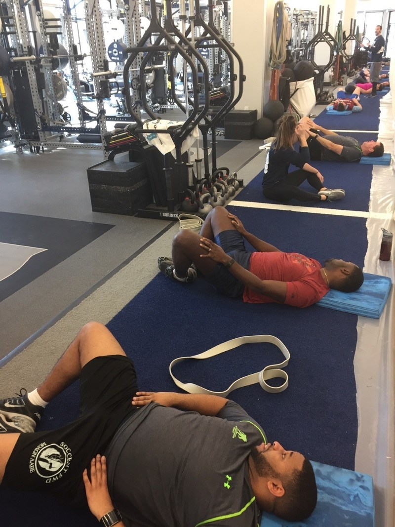Georgetown University opened its doors recently to injured veterans taking part in a Wounded Warrior Project(R) (WWP) Physical Health and Wellness coaching program.