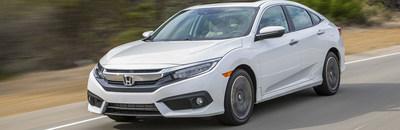 Dayton, Ohio area car shoppers can save on a variety of new Honda leases, including the 2017 Honda Civic Sedan LX CVT, at Matt Castrucci Honda.