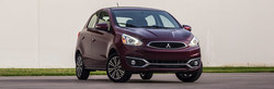 The 2017 Mitsubishi Mirage ES is available at Continental Mitsubishi for an incentive price.
