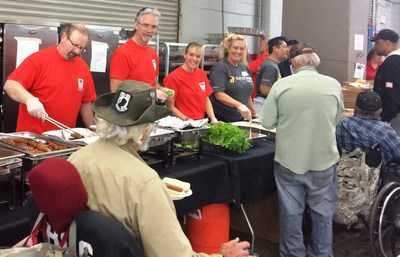 Sodexo, world leader in Quality of Life services, partnered with Arizona StandDown on February 9 and 10, to provide 4,000 meals and employment services to more than 2,000 veterans attending the annual outreach event at the Veterans Memorial Coliseum in Phoenix, Arizona.