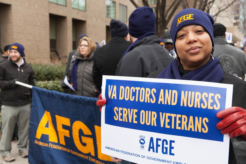 The American Federation of Government Employees represents 220,000 employees in the Department of Veterans Affairs who provide veterans and their families with quality medical care, timely benefits, and lasting memorial.