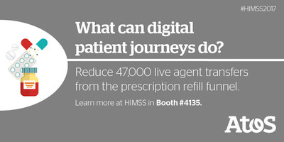 Atos Launches Digital Health Solutions Portfolio at Global HIMSS17 Conference in Orlando