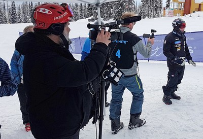 The Canadian Paralympic Team uses LiveU Solo to cover the World Para Snowboard Championships