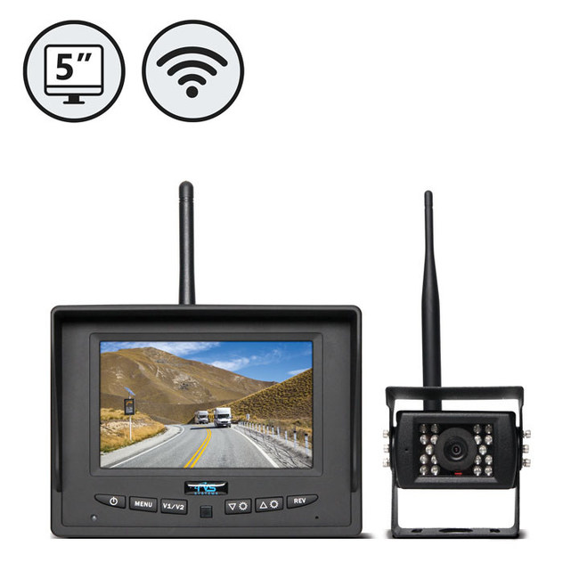 rear view safety introduces cutting edge wireless backup camera system. Black Bedroom Furniture Sets. Home Design Ideas