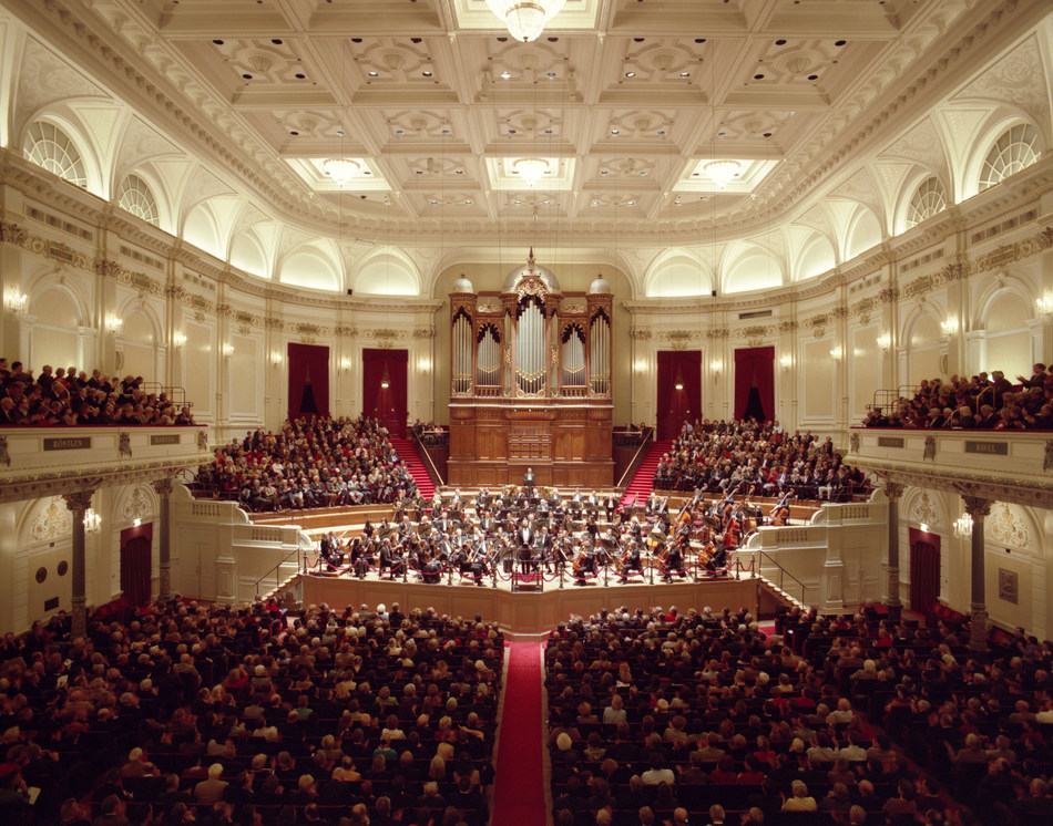 PHOTO: Main Hall at The Royal Concertgebouw; Photo Credit: The Royal Concertgebouw