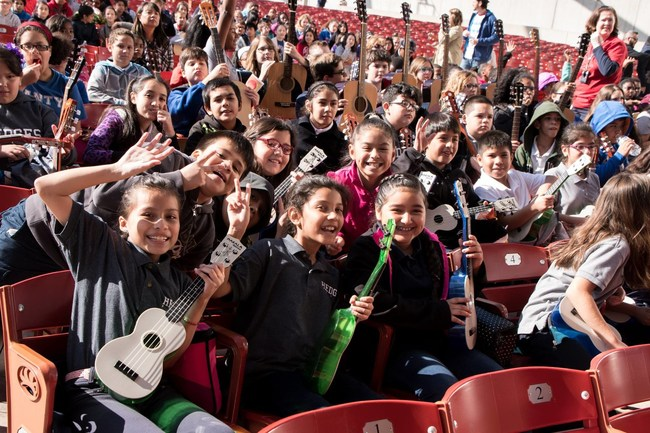 Chicago students at the 2016 Kickoff Concert