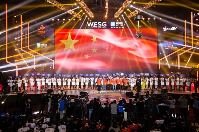 Jogadores de 36 paises subiram ao palco