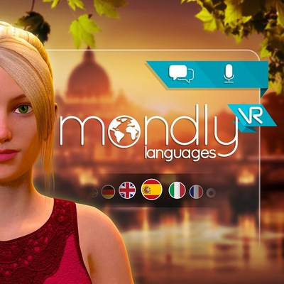 Mondly Launches Virtual Reality for Learning Languages, Powered by Chatbots