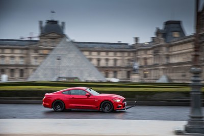 Claude Lelouch's cult classic driving film, reimagined in 360 VR with the Ford Mustang. (PRNewsFoto/GTB)