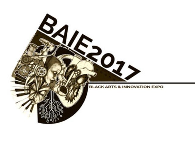Black Arts & Innovation Expo - 2017. Logo Designed by Komi Olaf (CNW Group/Excelovate)