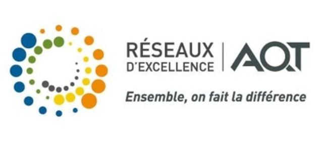 Logo : Réseaux d'excellence de l'AQT (Groupe CNW/Association québécoise des technologies (AQT))