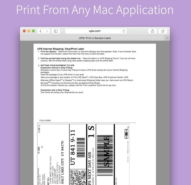 Print From Any Application
