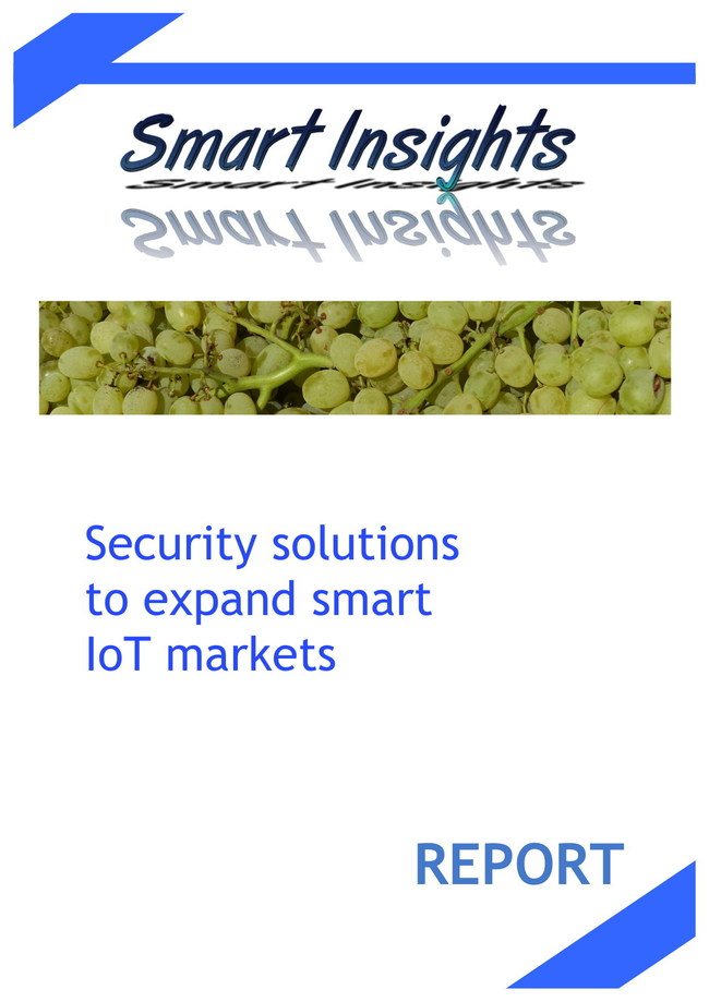 """Security solutions to expand smart IoT markets"""