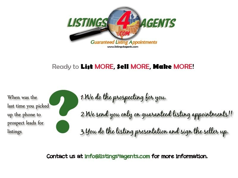 Listings 4 Agents