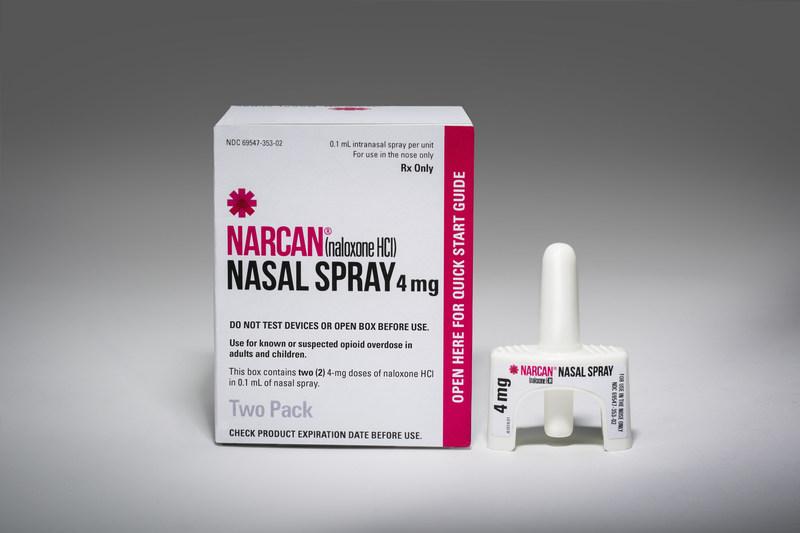 NARCAN(R) (naloxone HCI) NASAL SPRAY (PRNewsFoto/Adapt Pharma)