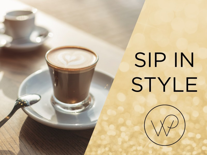 Sip in Style with 20% off through the end of the month! Use code WELCOME at check out on www.wpcoffee.com