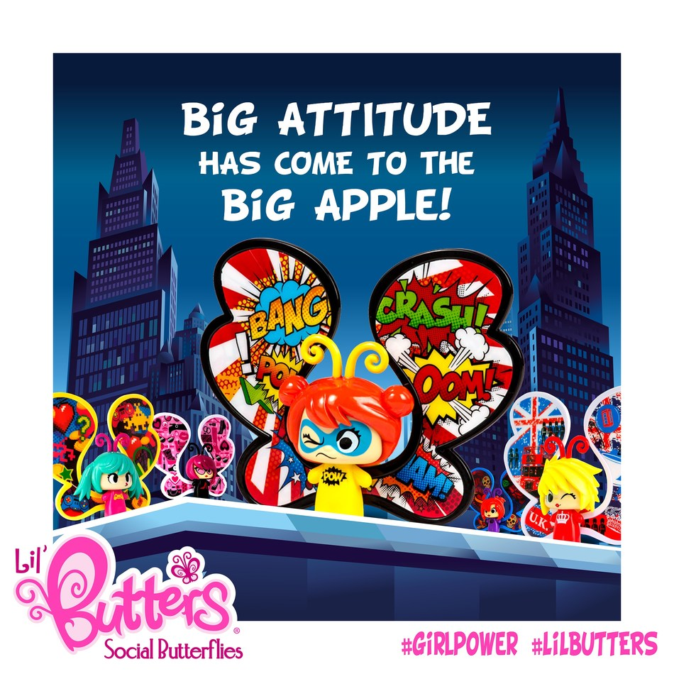 Lil' Butters is Snaptoys' flagship line of fun and sassy collectible butterfly figurines, all with their own unique personality. Thirteen Lil' Butters figurines are currently available, each designed with beautiful wing patterns and a unique emoji that truly resonates with girls of all ages!