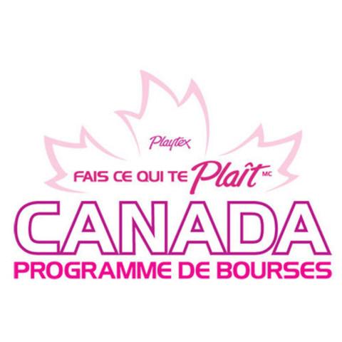 Programme de bourses « Fais ce qui te plaît Canada » de Playtex (Groupe CNW/Playtex Sport)