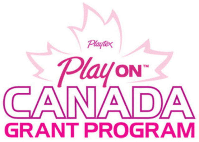 Playtex® PlayON™ Canada Grant Program (CNW Group/Playtex Sport)