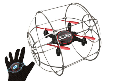 KD Interactive Soars into 2017 American International Toy Fair with Aura, a Gesture-Controlled Flying Robot Sure to Disrupt the Toy Drone Category