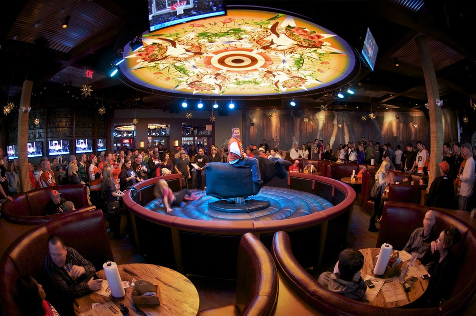 The Cordish Companies, Texas Rangers and Professional Bull Riders (PBR) announced that the largest PBR country bar will debut at Texas Live! in Arlington, TX next year. The Cordish Companies and PBR have had significant success in other markets across the country including XFINITY Live! (pictured here) in Philadelphia, PA.