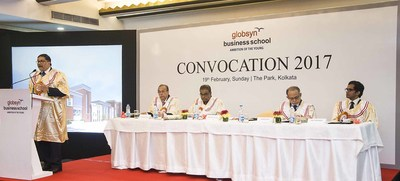 globsyn business school holds 13th annual convocation pr