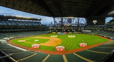 Topgolf Crush took over Safeco Field in Seattle over Presidents Day weekend.