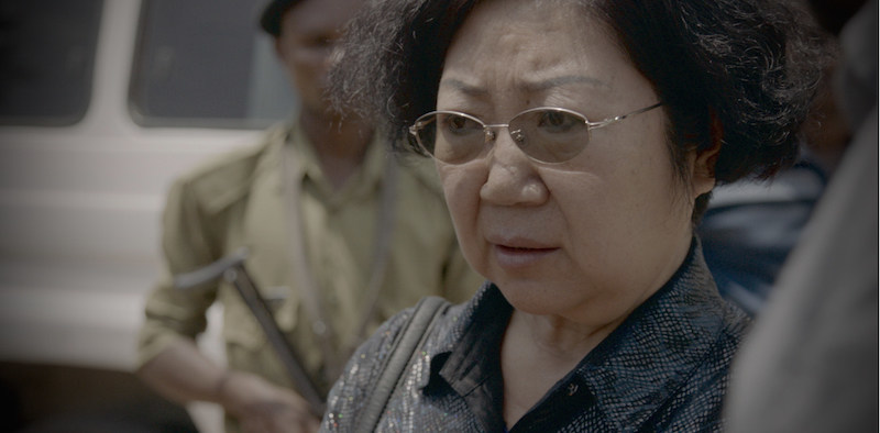 Arrested Ivory Queen off to court. Credit: NTSCIU