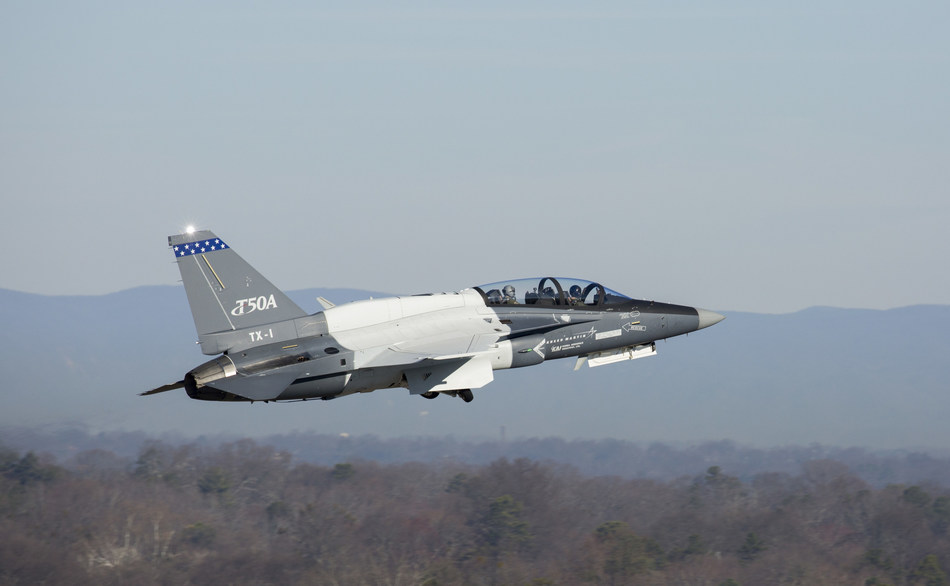 Lockheed Martin's second T-50A accomplished an initial test flight from the Greenville, South Carolina final assembly and check out facility.