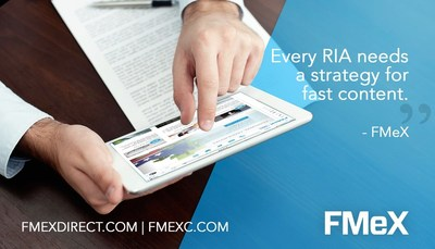 The FMeX content and sales enablement technology now available to over 100,000 financial advisors