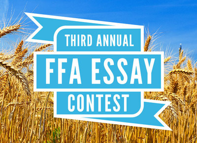 FFA members can write an essay for a chance to be one of three winners to help fund their chapter's trip to the National FFA Convention & Expo in Indianapolis, October 25-28.